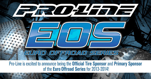 Pro-Line are the Official Tire Supplier for the EOS